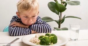 Nenuťte je jíst. Stejně tím ničeho nedosáhnete...