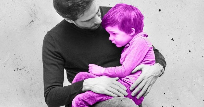 Jak uklidnit dítě, když jste ztratili nervy
